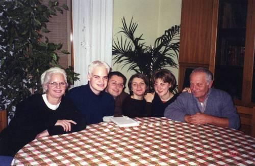 Mom, me, Michele Maffucci, Cinzia Gervasi, Iolanda Gervasi and Vito Michele Gervasi