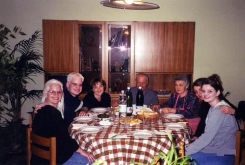 Mom, me, Iolanda Gervasi, Vito Michele Gervasi, Margherita Zarrilli, Cinzia Gervasi, my sister Pamela