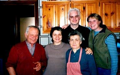 Vito Michele, Cinzia, Me, Margherita & Meg Graves