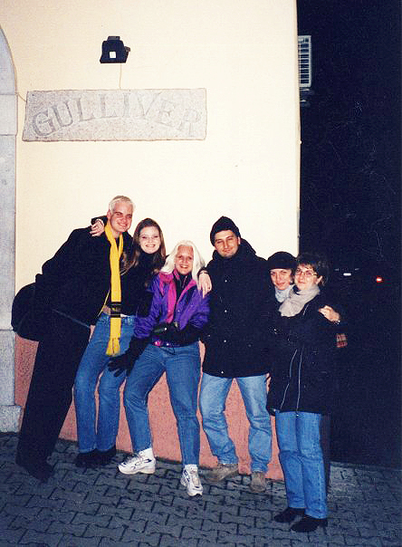 Me, my sister Pamela, my mother, Antonio Maffucci, Cinzia Gervasi and Iolanda Gervasi
