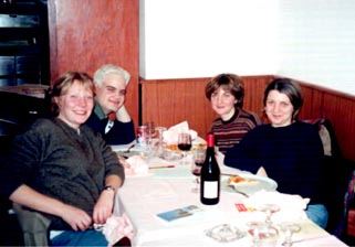 Meg, me, Iolanda Gervasi and Cinzia Gervasi